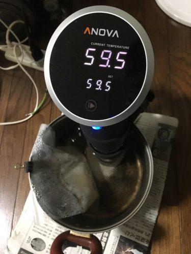 低温真空調理器ANOVA