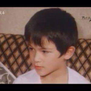 6歳の室伏広治少年