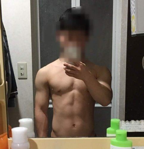 【体重59kg】2017年3月 デブ期のスズキツバサ