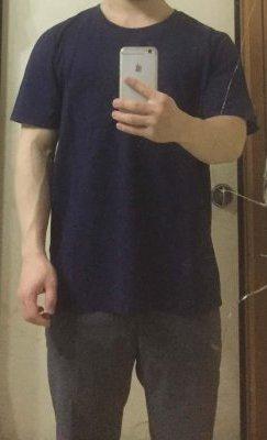 「あなたサイズ」の古着Tシャツのサイズ感5