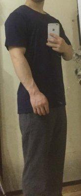 「あなたサイズ」の古着Tシャツのサイズ感6